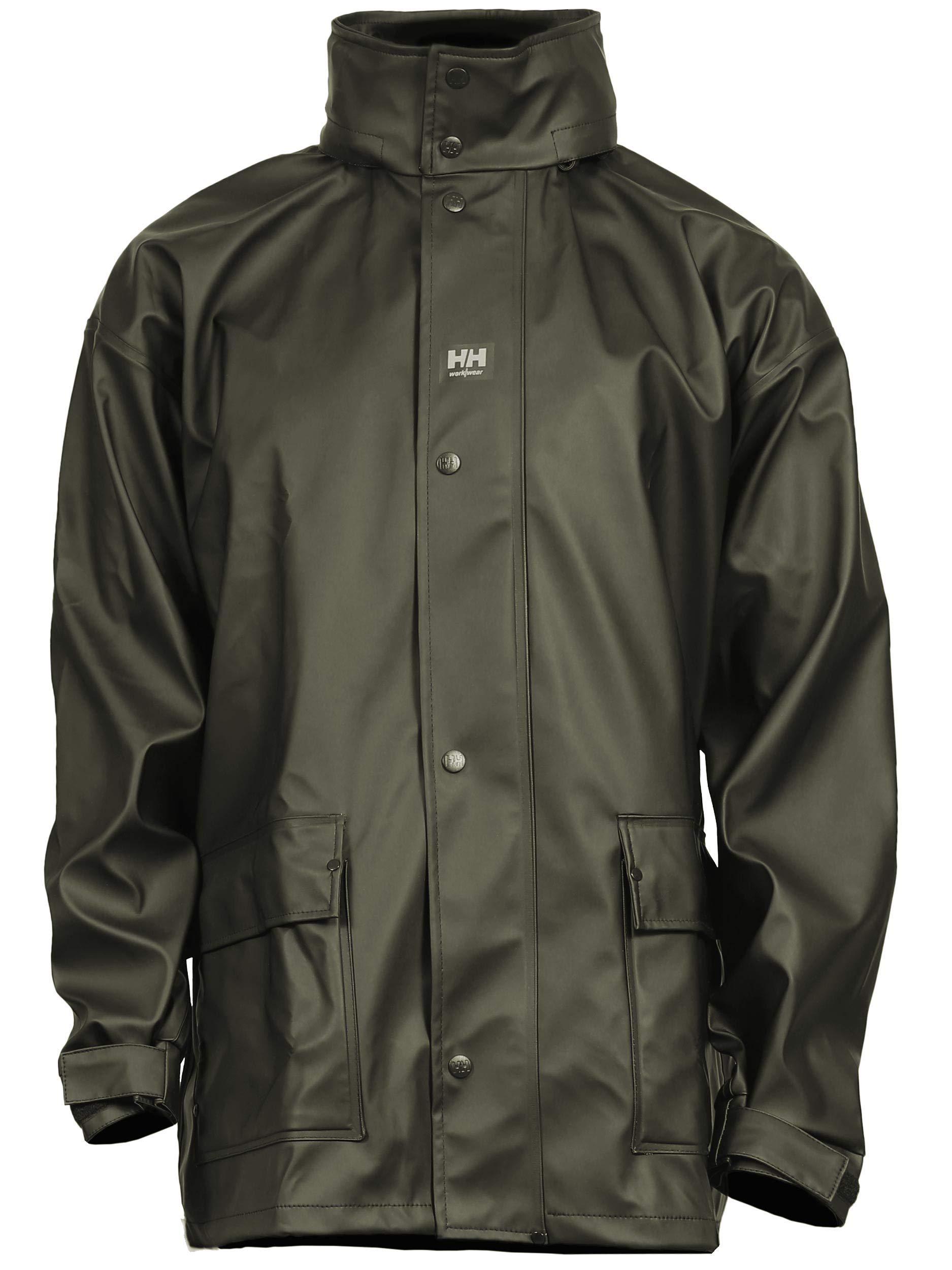 Helly Hansen Men's Impertech II Deluxe Jacket Green/Brown, medium by Helly Hansen