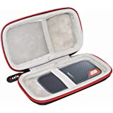 Asafez Hard Case for SanDisk 250GB / 500GB / 1TB / 2TB Extreme Portable SSD SDSSDE60