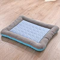 Summer Breathable Dog Cooling Mat Eco-Friendly Washable for Home And Travel - Prevent Overheating And Dehydration for…