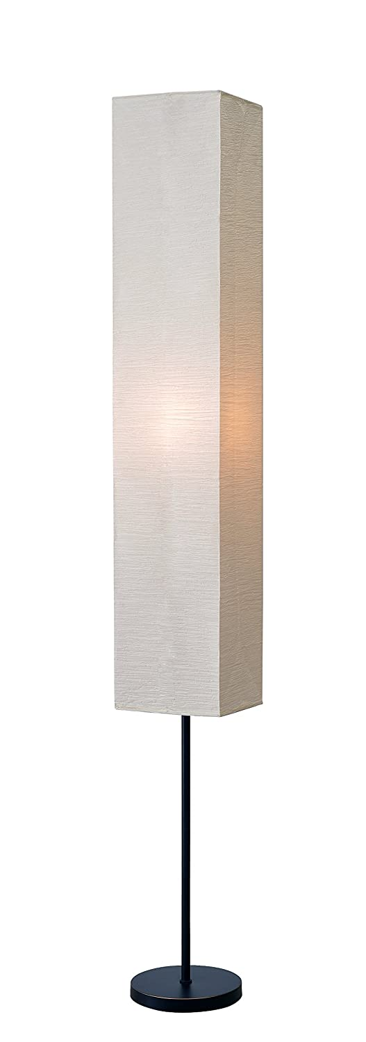 Kenroy Home Netherlands Floor Lamp 62.5 Inch Height, 8 Inch Width, 8 Inch Length Oil Rubbed Bronze