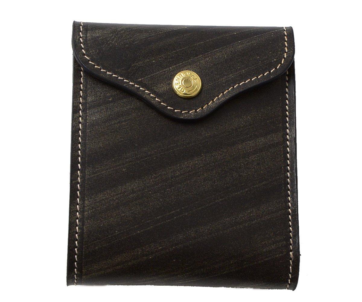 (グレンロイヤル) GLENROYAL SLIDING WALLET ブライドルレザー スライディングウォレット 二つ折り財布03-5956 ユニセックス B008RKBUXG New Black New Black