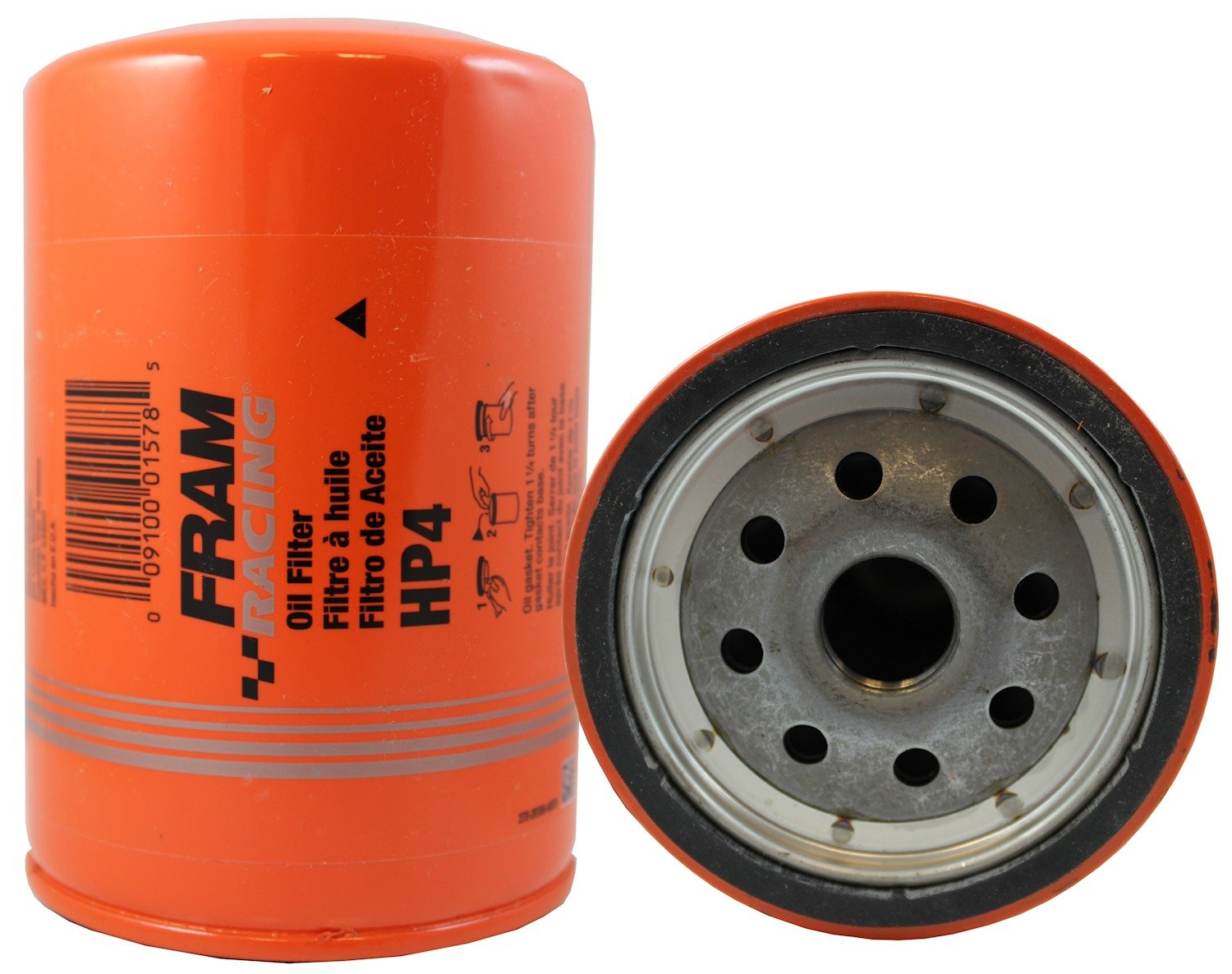 Fram Hp4 High Performance Spin On Oil Filter Automotive Kubota Fuel Mount