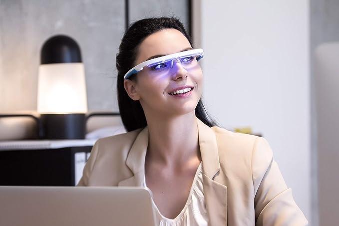 AYO Sleep better Premium light therapy glasses