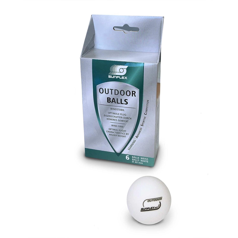 Sunflex Outdoor Ping-pong balle Blanc SUON1|#Sunflex 20610