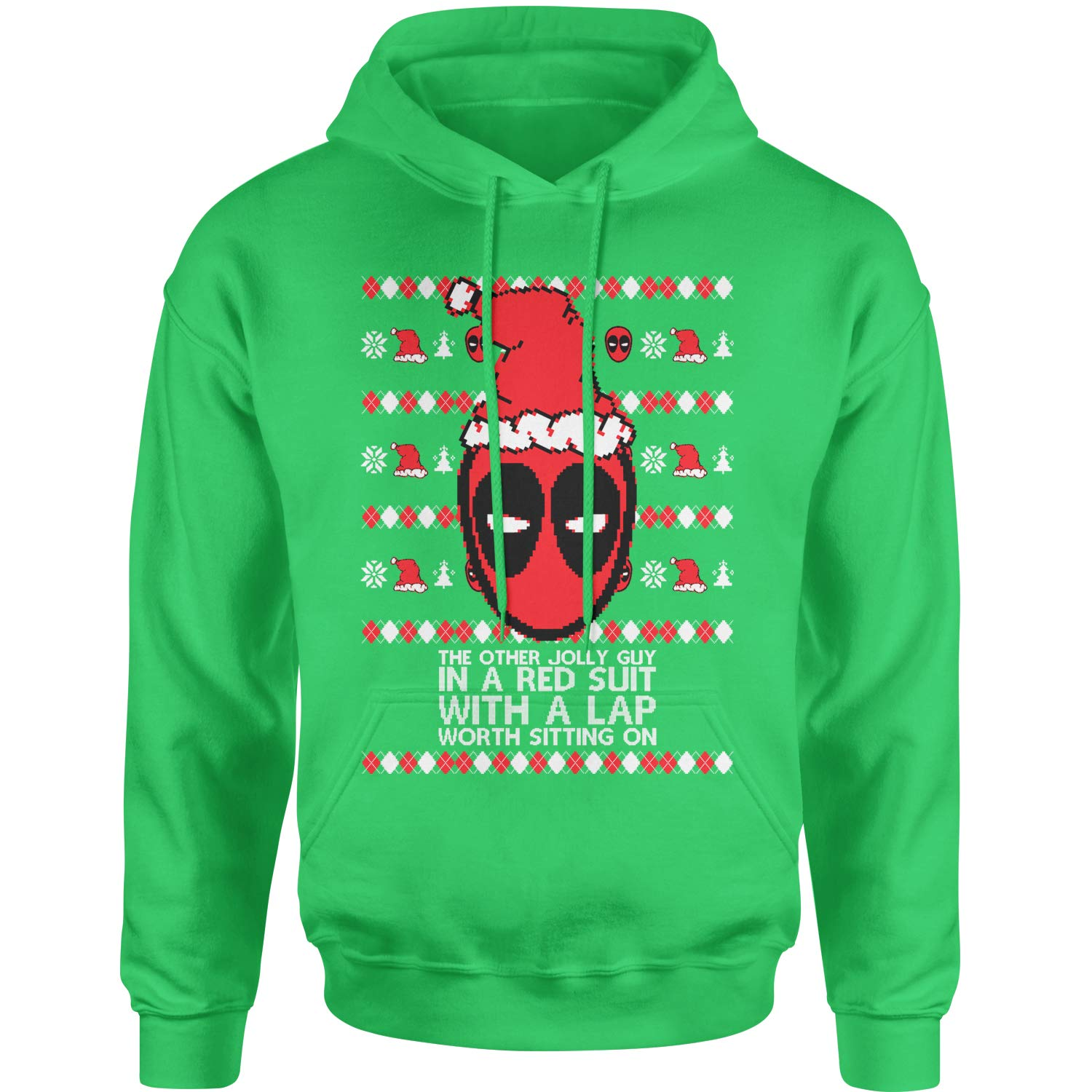Motivated Culture MERC with A Mouth Ugly Christmas Adult Unisex Hoodie