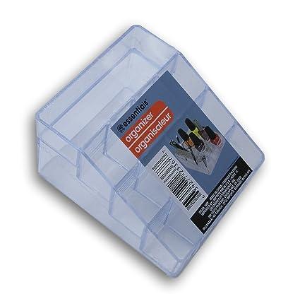 2419da2cc440 Clear Plastic Vanity Organizer Essential Oil Rack -13 Compartments