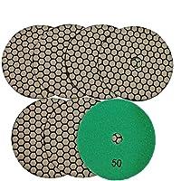 SHDIATOOL Diamante Almohadilla de Pulido 7 Piezas Grano