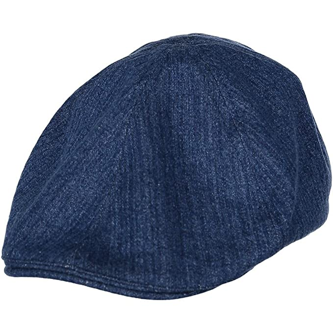 Amazon.com  Polarn O. Pyret Herringbone ECO Sixpence Cap (2-9YRS ... a897499edae