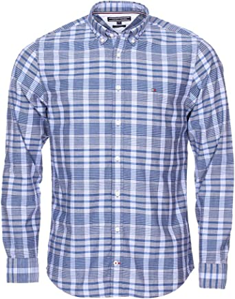 Tommy Hilfiger Colored Check Chambray Shirt Camisa para Hombre