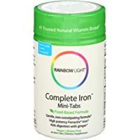 Rainbow Light - Complete Iron Mini-Tabs, Gently Encourages Healthy Iron Levels by...