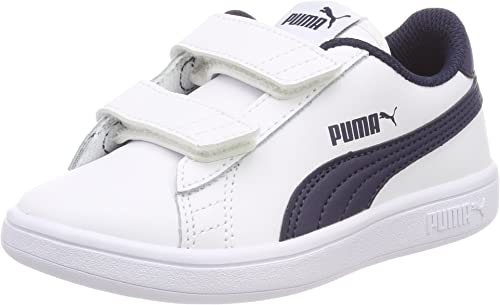PUMA Smash V2 LV PS, Sneakers Basses Mixte Enfant