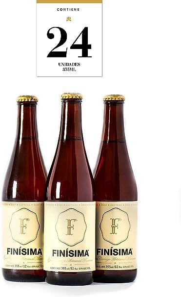 Cerveza Finísima pack 24 unidades de 355 ml