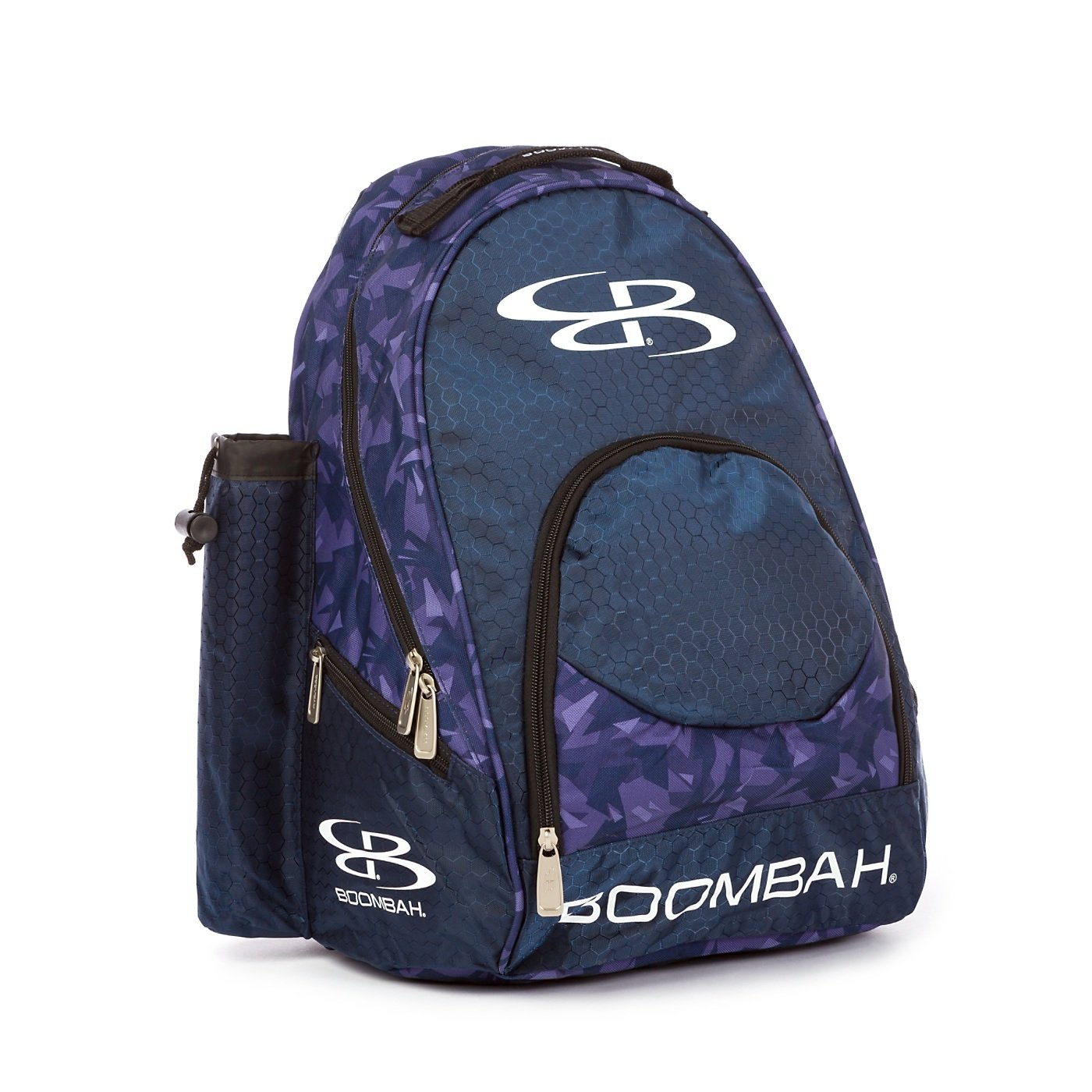Black//Silver Boombah Tyro Baseball//Softball Bat Backpack Holds 2 Bats up to Barrel Size of 2-5//8 20 x 15 x 10