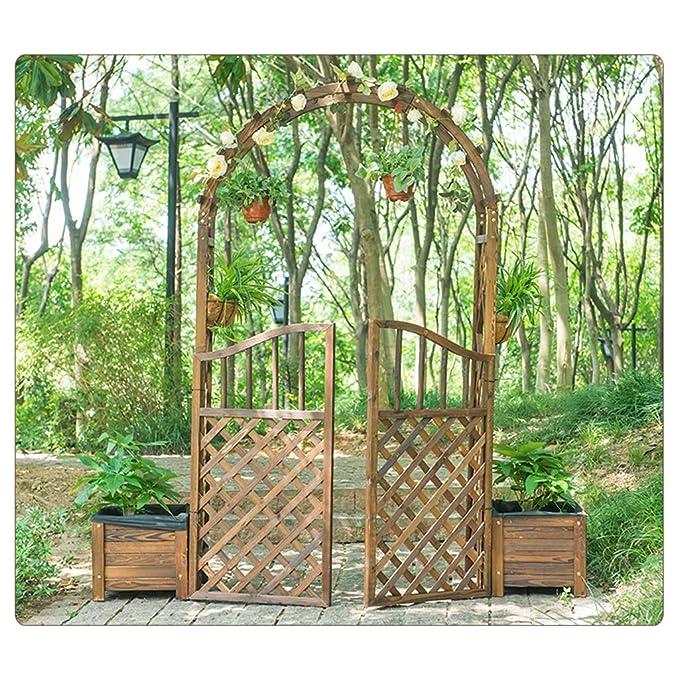 XLOO Cenador de jardín, Arcos de jardín de Madera, pérgola de ...