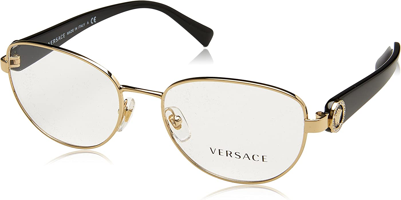 9b42dee992 Amazon.com  Versace Women s VE1246B Eyeglasses 52mm  Clothing
