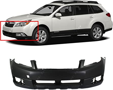 NEW Painted To Match Front Bumper Replacement for 2010-2012 Subaru Legacy 10-12