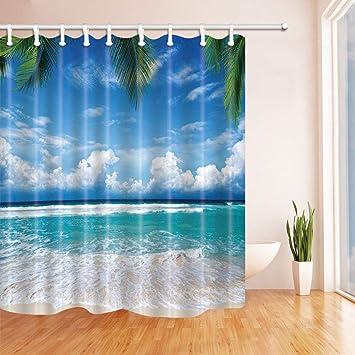 Yellow Banana Shower Curtain Bedroom Waterproof Fabric /& 12Hooks 71*71inch