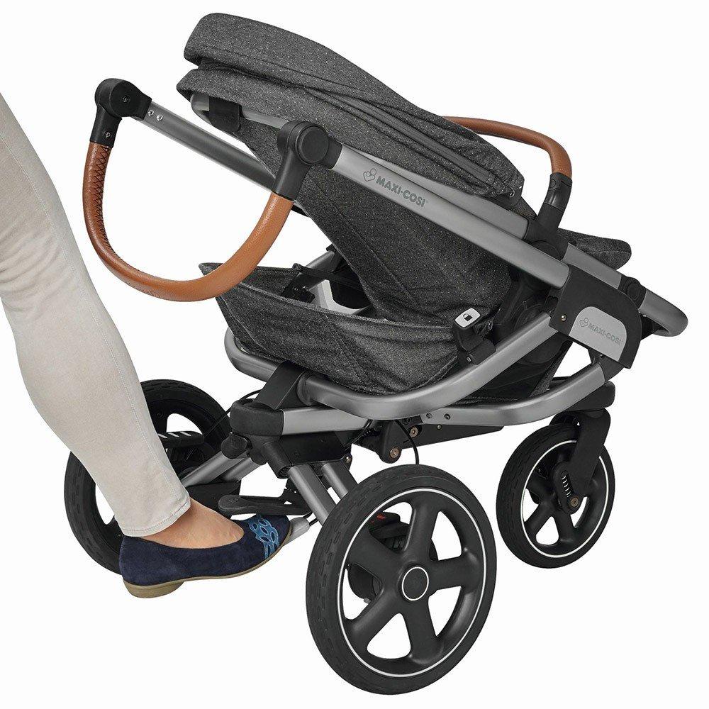 Bebe Confort Trio Nova 4 Oria y CabrioFix Sparkling Grey: Amazon.es: Bebé