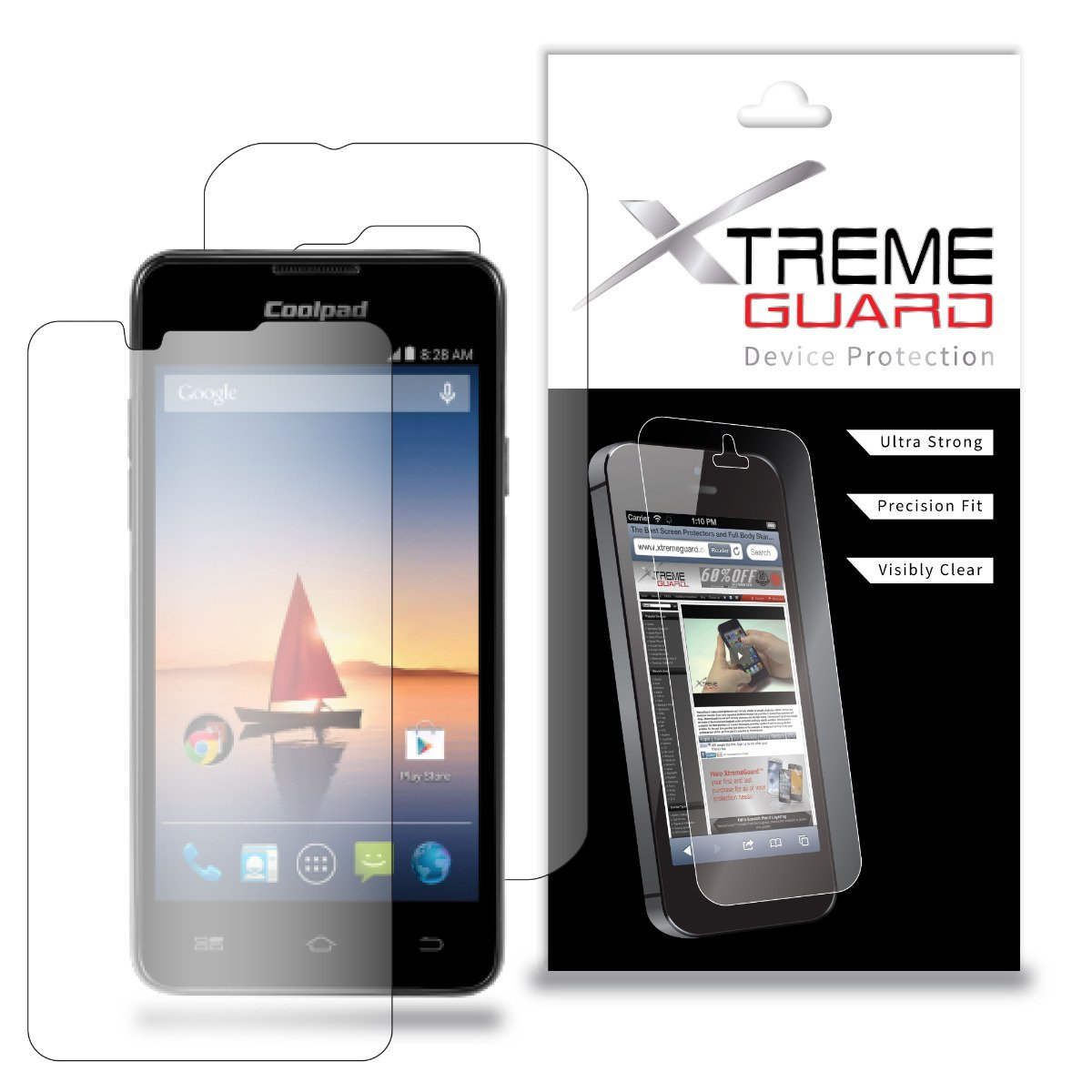 Amazon.com: XtremeGuard Full Body Screen Protector for Coolpad Arise 5560S  (Ultra Clear): Cell Phones & Accessories
