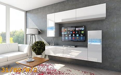 HomeDirectLTD Moderno Conjunto de Muebles de salón Future 31 ...