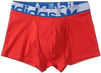 Adidas Boxershorts Knit Boxer - Ropa Interior Deportiva para Hombre, Color Rojo, Talla 2XL