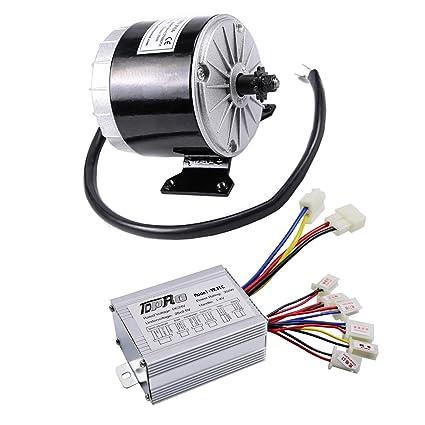 Amazon com: WPHMOTO 350W 24V DC Brushed Electric Motor with