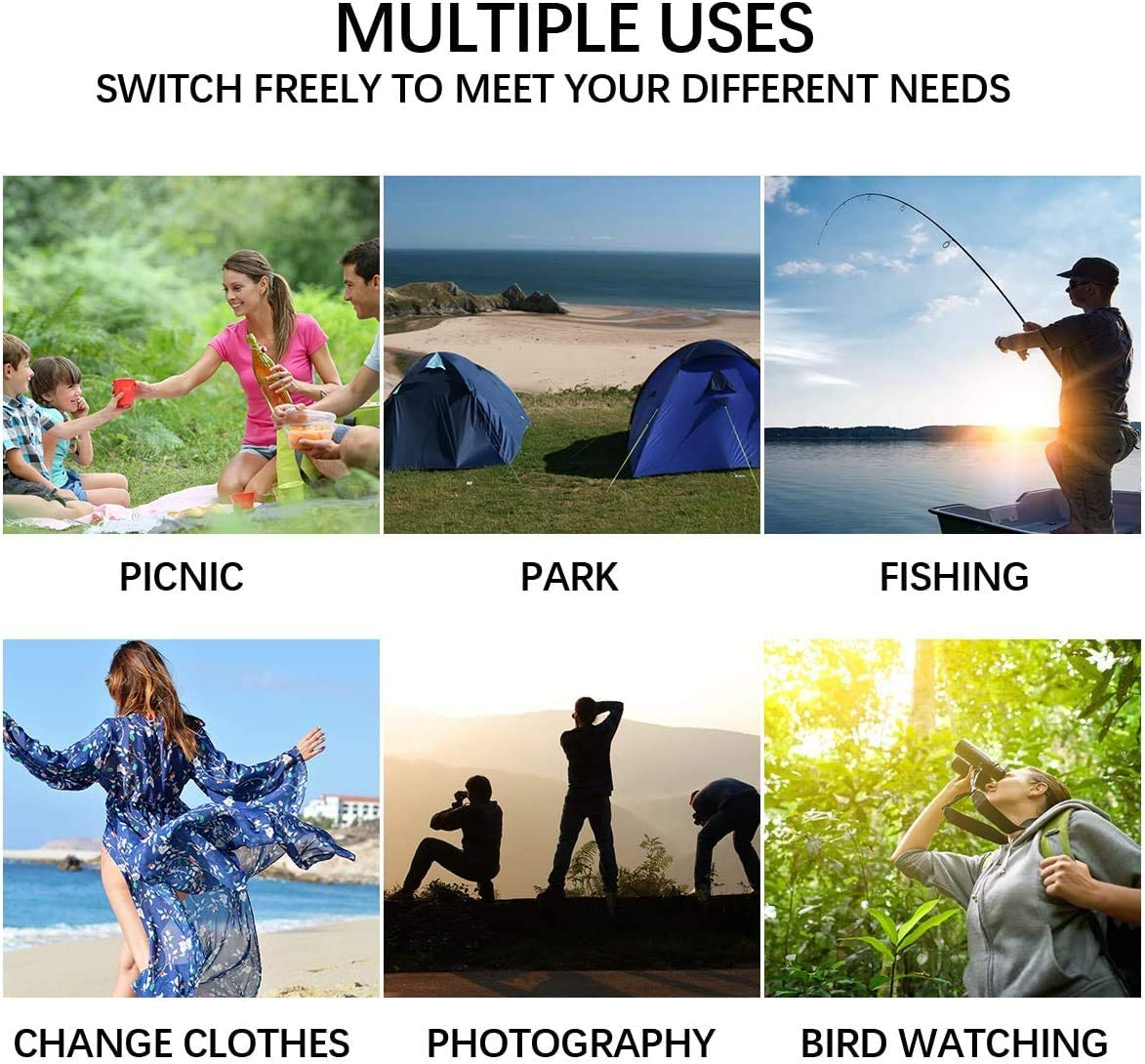 QDWRF Pop Up Toilettenzelt Umkleidezelt Camping Duschzelt Mobile Outdoor Privatsph?re Wc Zelt Kann 20L Duschtasche H/ängen Pop Up Umkleidezelt Toilettenzelt