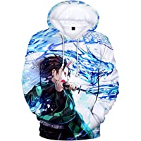 Demon Slayer Kimetsu no Yaiba Print Pullover 3D Hoodie Sweatshirt Zipper Coat Jacket Pullover Casual Sweatshirts