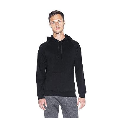 American Apparel Men's California Fleece Long Sleeve Pullover Hoodie: Clothing