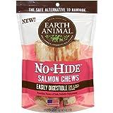 Earth Animal No-Hide Salmon Chews, 4 Oz, 2pk