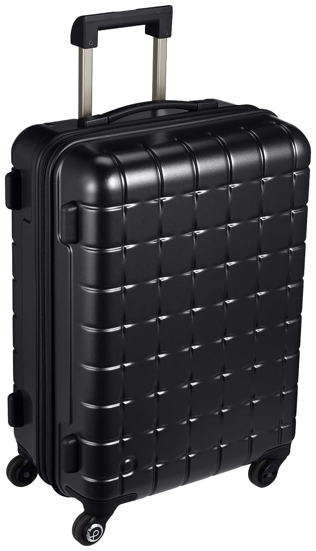 [プロテカ] Proteca スーツケース 日本製 360s(スリーシックスティエス) 3年保証 サイレントキャスター 55cm 44L B06X93JTN4ブラック