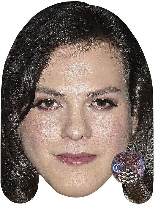 Peter Serafinowicz Celebrity Mask Flat Card Face