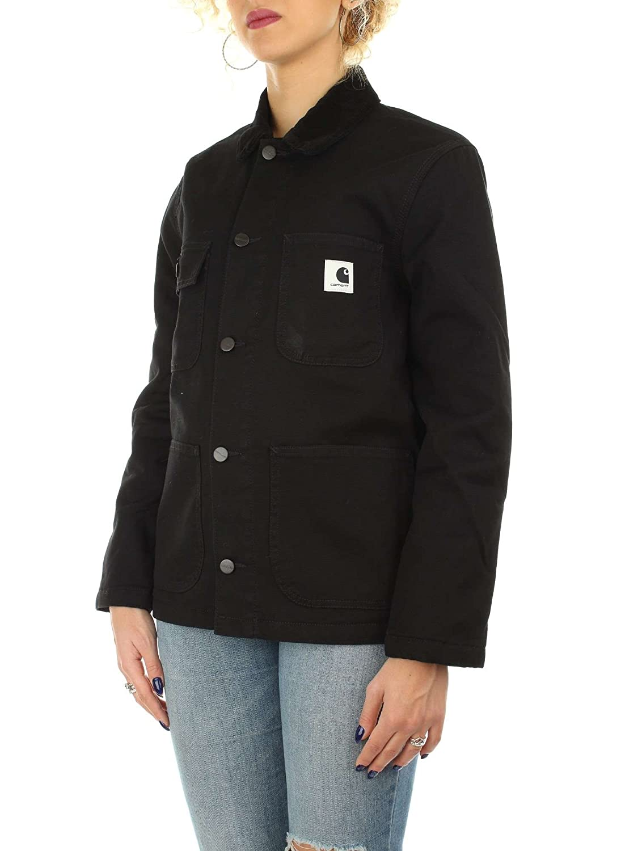 Carhartt WIP Mujer Chaquetas w Michigan Jacket, Black/Black ...