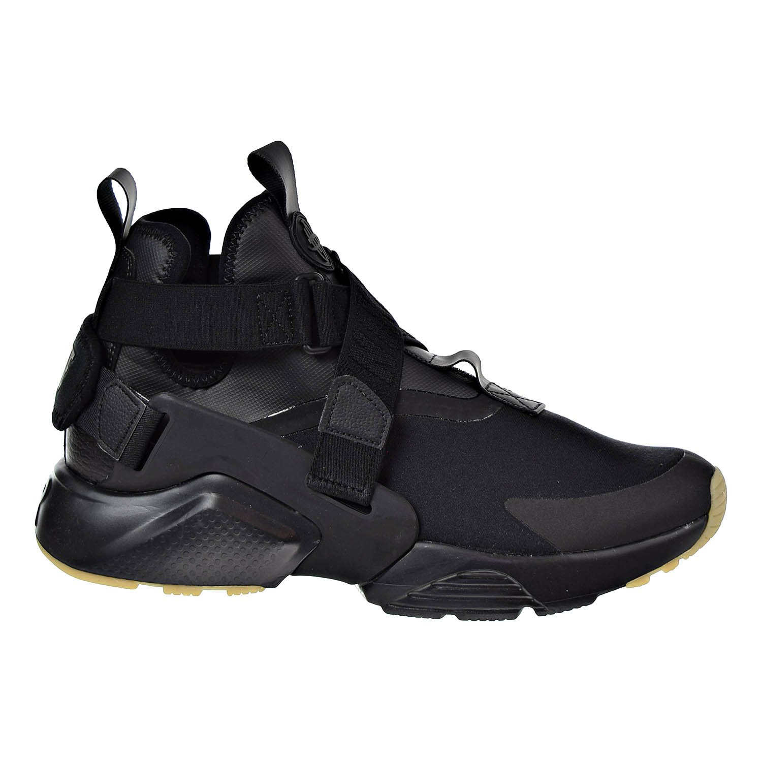 4d69af06d0575 Galleon - NIKE Air Huarache City Women s Casual Shoe Black Dark Grey Ah6787-003  (14.5 B(M) US)