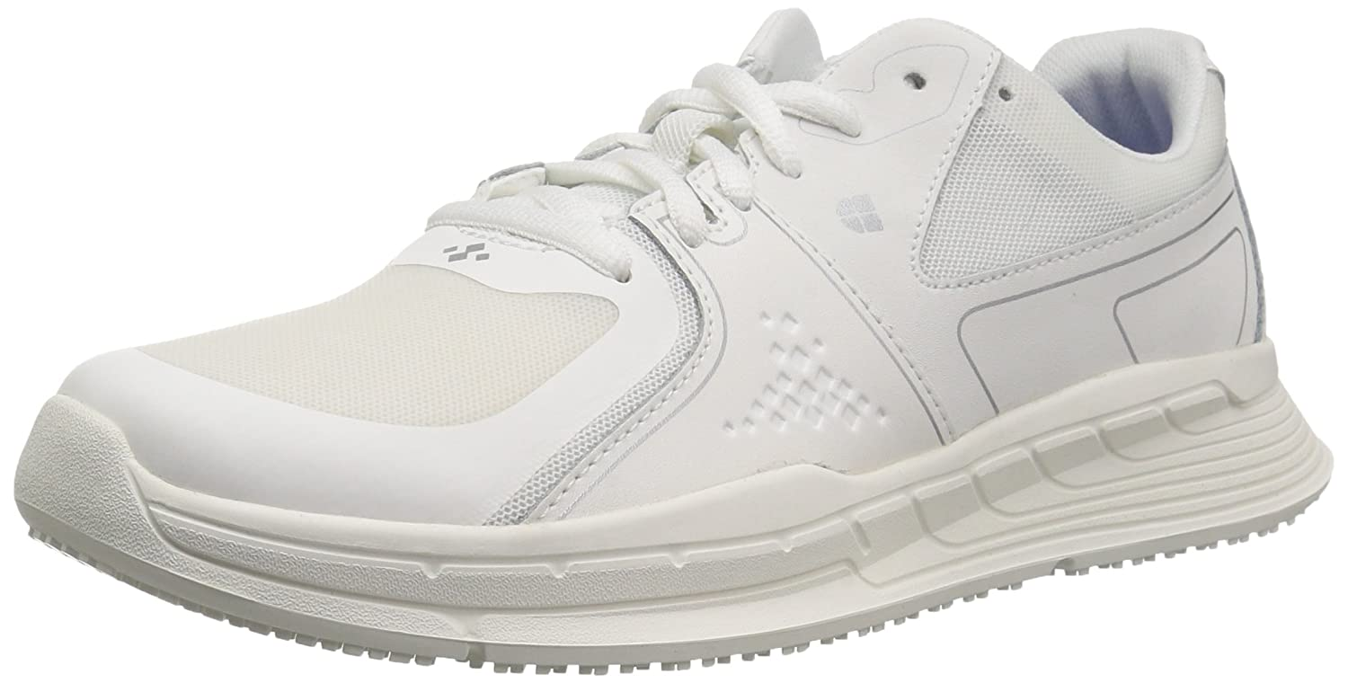 Shoes For Crews Women's Falcon II Slip Resistant Food Service Work Sneaker B07BHJL24H 7.5 W US|White