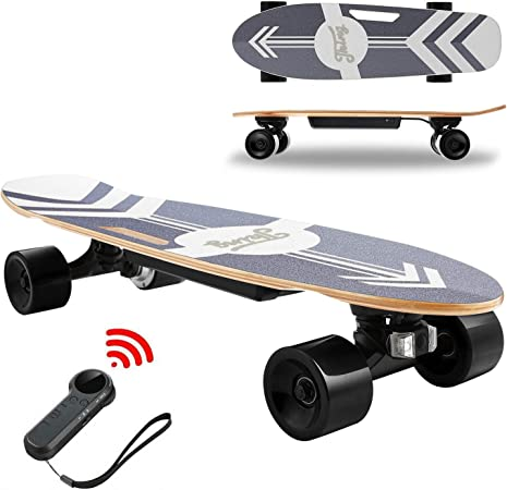 Details about  /Electric Skateboard Longboard 350W Dual Motor 12MPH Top Speed 7 Layers s c 10