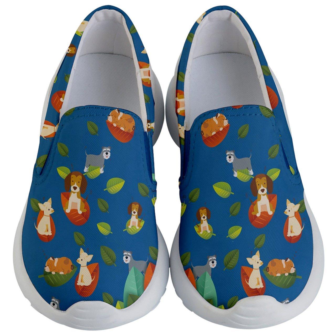 PattyCandy Unisex Toddler Shoes Castle Elephant Pug Bulldog In Wonderland Animals Print Kids Lightweight Slip Ons PattyCandy-140072883