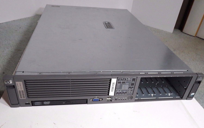 HP Proliant DL380 G5 2X Quad core 3Ghz X5450 32GB 8X 146GB P400 DVD
