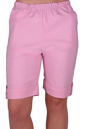 EyeCatch - Eta Womens Elasticized Flexi Stretch Ladies Shorts Plus ...