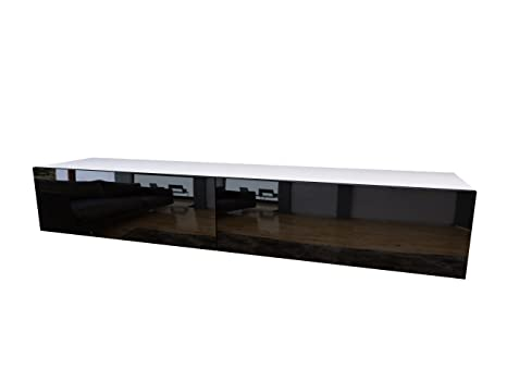 Contemporary tv furniture units Wall Units Domadeco 180 Tv Standcontemporary Tv Unitstv Entertainment Center Color White And Black Rothbartsfoot Amazoncom Domadeco 180 Tv Standcontemporary Tv Unitstv