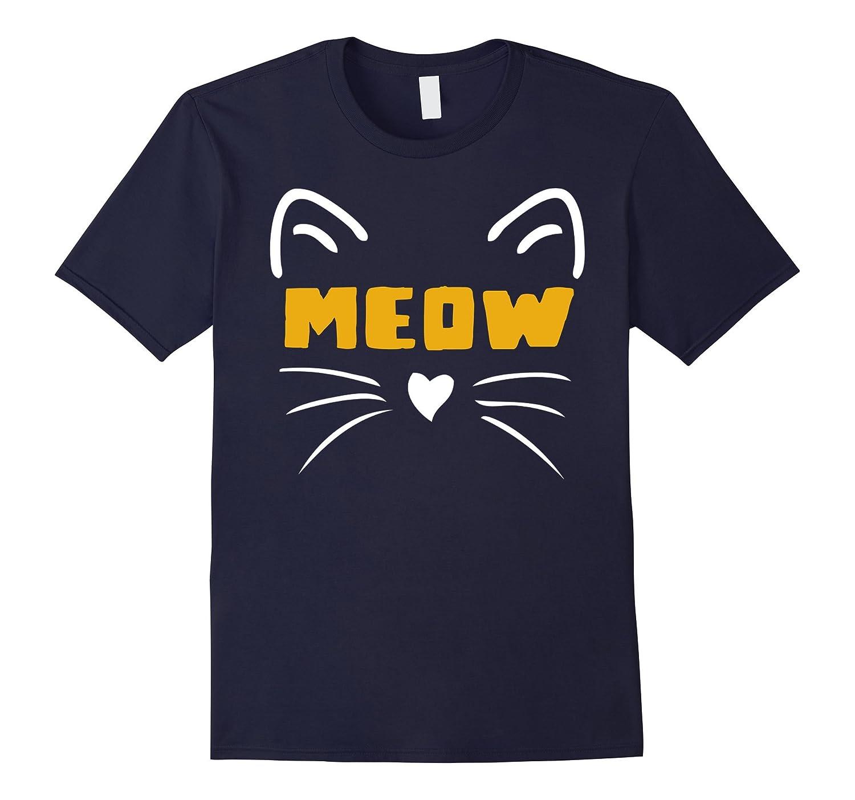 OFFICIAL Halloween Meow Cat Costume T-Shirt Women Men Kids-FL