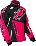 Castle X Launch-G4 Womens Snowmobile Jacket - Hot Pink -LRG