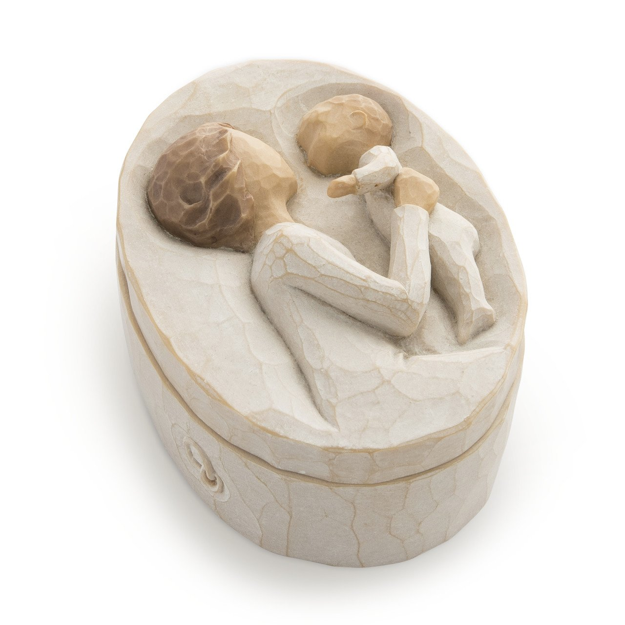 Willow Tree hand-painted sculpted Keepsake Box, Grandmother