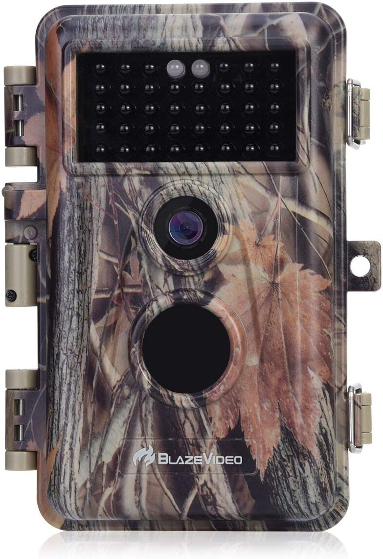 Game Trail Deer Camera with Night Vision 20MP HD 1920x1080P H.264 MP4 Video Hunters Wildlife Hunting Cam No Glow IR Motion Sensor Activated IP66 Waterproof Password Protected Photo Video Model