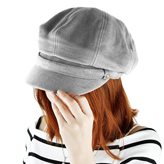 72c2fe906 Samtree Newsboy Hats for Women,8 Panel Winter Warm Ivy Gatsby Cabbie Cap