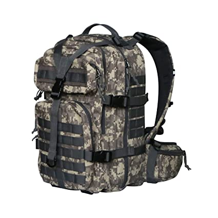 7499f3ee5beb Vihir 40L Waterproof Military Tactical Backpack Assault Pack Molle Bug Out  Bag for Outdoor Travel Hiking