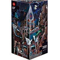 Heye Puzzles - Triangular , 2000 Pc - Castle of Horror, Loup