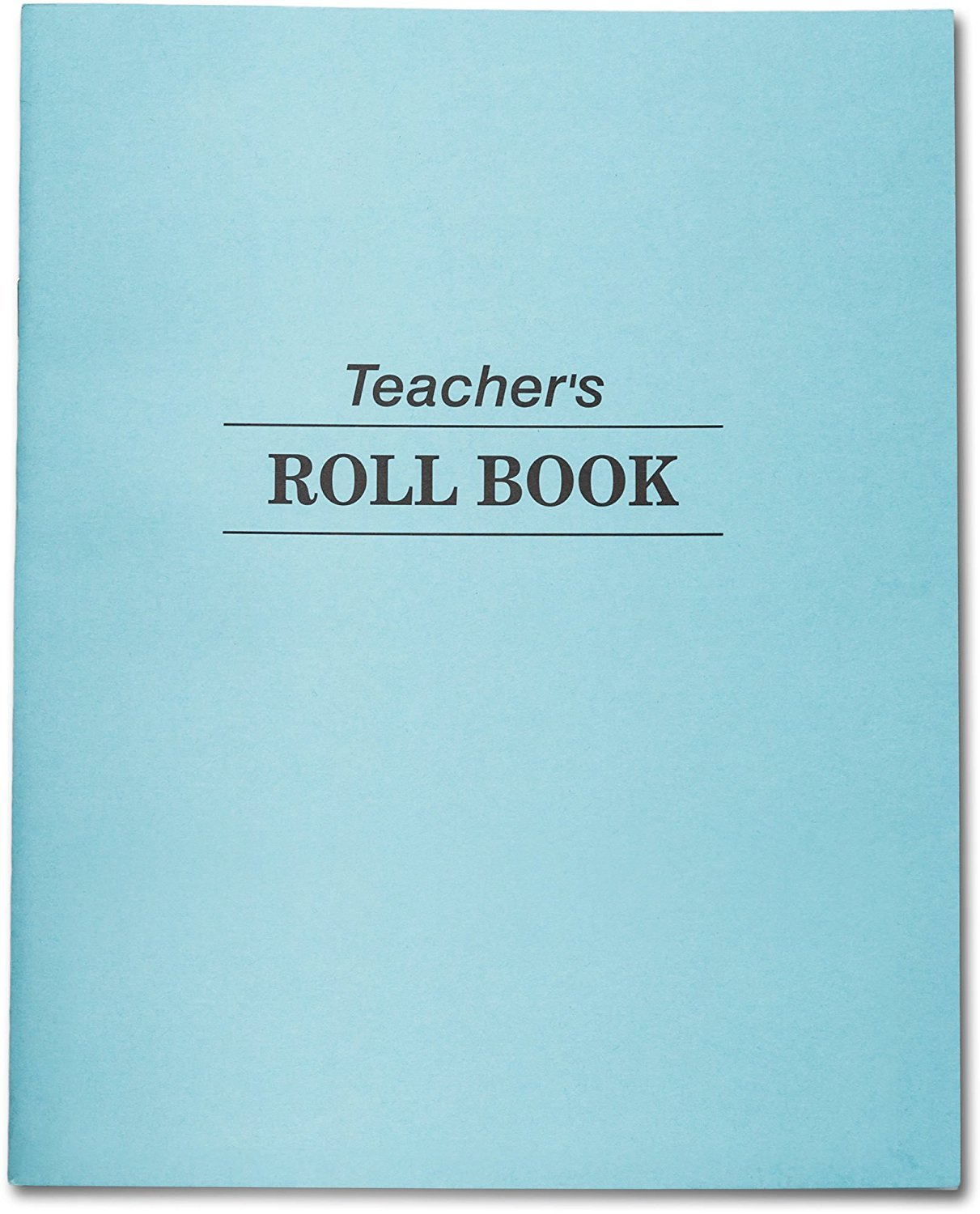Teachers Roll Book & Class Record, 48 Double Sided Sheets, 35 Student Names per Sheet. Ruled. 9 1/2 in X 7 1/2 Teacher's Edition