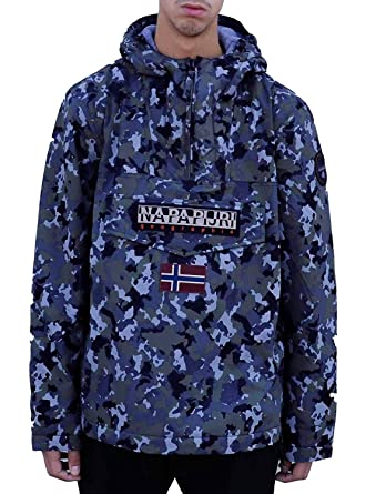 5812fdbd75a Napapijri Veste Rainforest Fantasy Bleu Homme  Amazon.fr  Vêtements et  accessoires