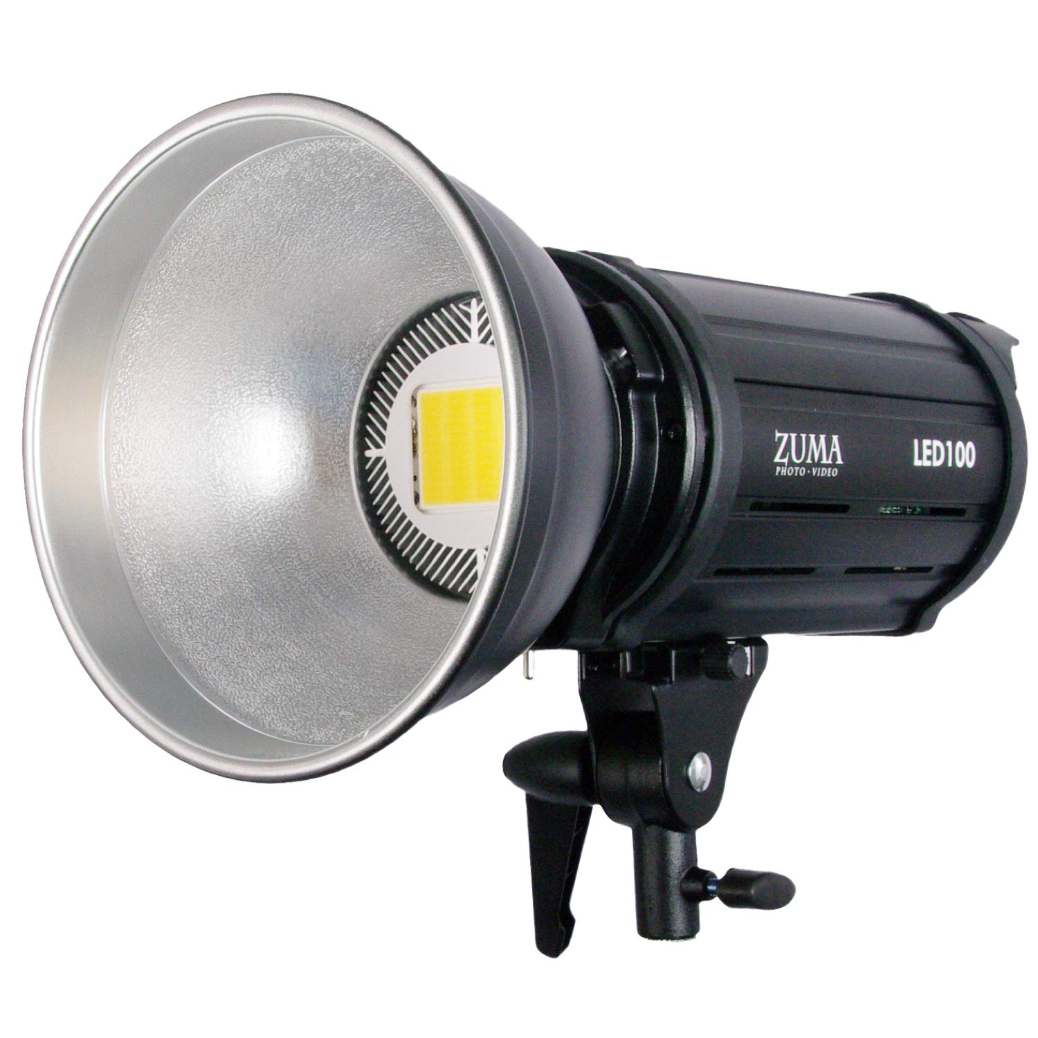 LED 100W Photo Studio Video Light CRI 95 10000 Lumens w/Dimmer, Umbrella Holder